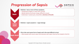 Sepsis to septic shock